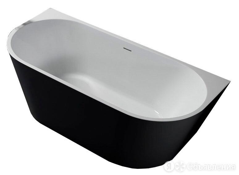 Акриловая ванна Abber (Gemy) AB9216-1.7B (1700х800х600) овальная, пристенная,... по цене 96559₽ - Ванны, фото 0