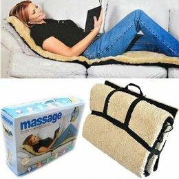 Массажные матрасы и подушки - Массажный матрас с мехом и подогревом, 0