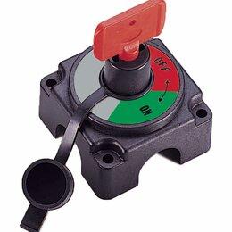 """Концевые, позиционные и шарнирные выключатели - Выключатель массы-ключ """"OFF-ON"""" (1 Акб) 250А, 0"""