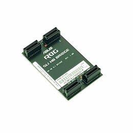 Компьютерные кабели, разъемы, переходники - Переходник Asus SLI Bridge, 0