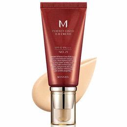 Для лица - Тональный ВВ крем для лица Missha  M Perfect Cover BB Cream 21 тон, 50 мл, 0