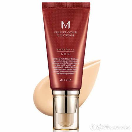 Тональный ВВ крем для лица Missha  M Perfect Cover BB Cream 21 тон, 50 мл по цене 1900₽ - Для лица, фото 0