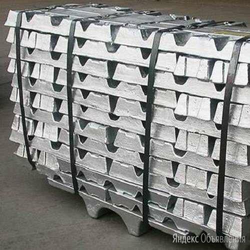 Цинк в чушках Ц3 ГОСТ 3640 - 94 по цене 112574₽ - Металлопрокат, фото 0
