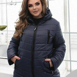 Куртки - Женская осенняя стёганая куртка р-ры 48-60, 0