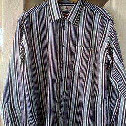 Рубашки - Мужская полосатая рубашка  Ocean bird, размер 48-50 (L), 0