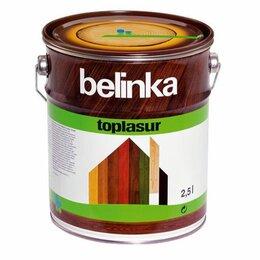 Эмали - Лазурное покрытие для защиты древесины Belinka TOPLASUR, 0