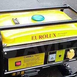 Электрогенераторы и станции - Бензиновый генератор eurolux G4000A 3,3кВт, 0