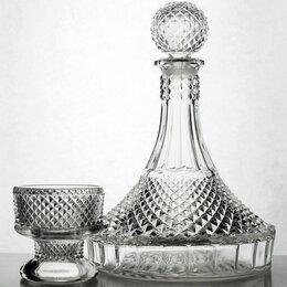 Кувшины и графины - Графин и 6 стаканов, 0