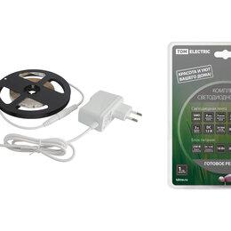 Светодиодные ленты - Комплект LED лентыSMD2835-60LED/м-12 В-4,8 Вт/м-IP20-6000 К (3м), 18 ВтTD..., 0