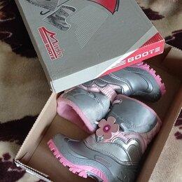 Сапоги, полусапоги - Ботинки для девочки, 0