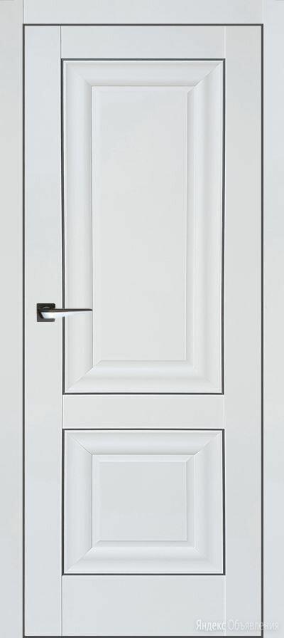 Белая матовая дверь Либерти-3 по цене 6950₽ - Межкомнатные двери, фото 0