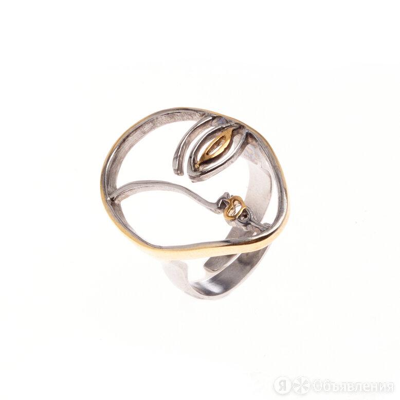 Серебряное кольцо «Лицо» по цене 3750₽ - Кольца и перстни, фото 0