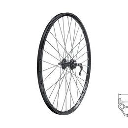 """Обода и велосипедные колёса в сборе - Колесо переднее KLS DRAFT DSC, 26"""", двойной обод 32Н, с эксцентриком, 0"""