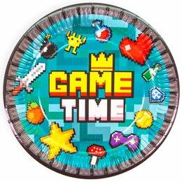 Рули, джойстики, геймпады - Тарелки Game Time, 6шт, 18см, 0