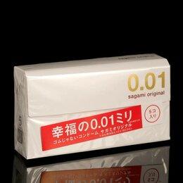 Презервативы - Sagami Презервативы Sagami Original 001, 5 шт./уп, 0