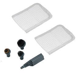 Пароочистители - Набор сменных аксесcуаров для пароочистителя Kitfort КТ-900-04, 0