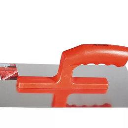 Инструменты для нанесения строительных смесей - Гладилка по бетону, пластмассовая ручка, 140х280 мм , 0
