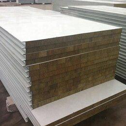 Стеновые панели - Сэндвич панель базальт 100 мм стеновая, 0