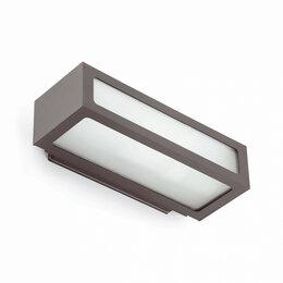 Настенно-потолочные светильники - Светильник настенный серый Natron, 0