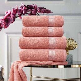 Полотенца - Набор из 4 полотенец Petek Crystal цвет: коралловый, 0