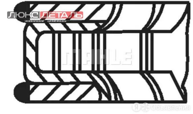 MAHLE 08312N0 КОЛЕЦ ПОРШНЕВЫХ КОМПЛЕКТ, BMW  по цене 2451₽ - Отопление и кондиционирование , фото 0