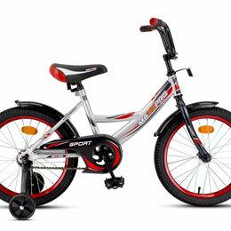 Прочие аксессуары и запчасти - Велосипед SPORT-18-4 серебристо-красный, 0