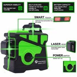 Измерительные инструменты и приборы - Зелёный лазерный уровень 12лучей , 0
