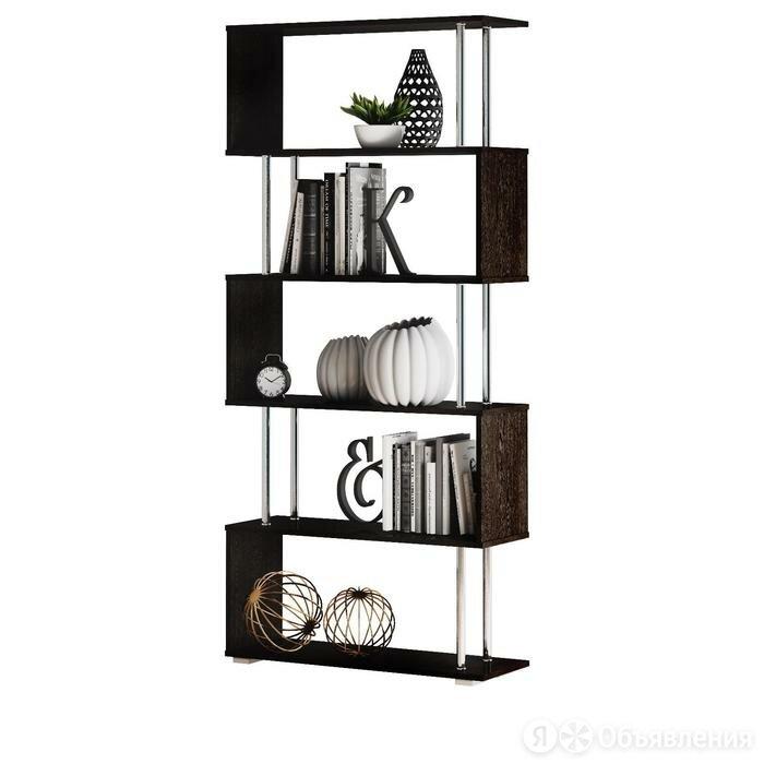 Стеллаж 850х288х1866 венге по цене 5460₽ - Стеллажи и этажерки, фото 0