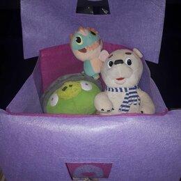 Хранение игрушек - Корзина для игрушек Домик из фетра, 0