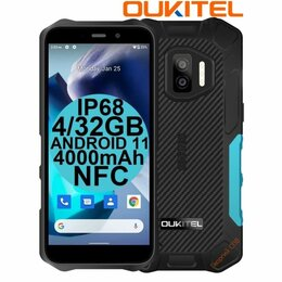 Мобильные телефоны - НОВИНКА Защищённые Oukitel WP12 Blue IP68/69K 4/32GB 4000mAh NFC, 0