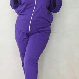 Спортивные костюмы - Тёплые спортивные костюмы женские больших размеров р-ры 54-66, 0