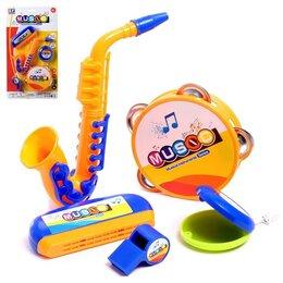 Детские наборы инструментов - Набор музыкальных инструментов «Оркестр», 5 предметов, 0