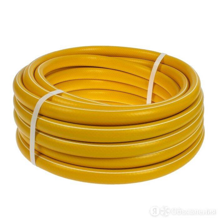 Шланг, ТЭП, d  18 мм (3/4'), L  15 м, морозостойкий (до 30 C), COLOR, жёлтый по цене 1918₽ - Шланги и комплекты для полива, фото 0