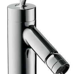 Комплектующие - Смеситель Axor Starck Classic 10200 для биде однозахватный, донный клапан, из..., 0