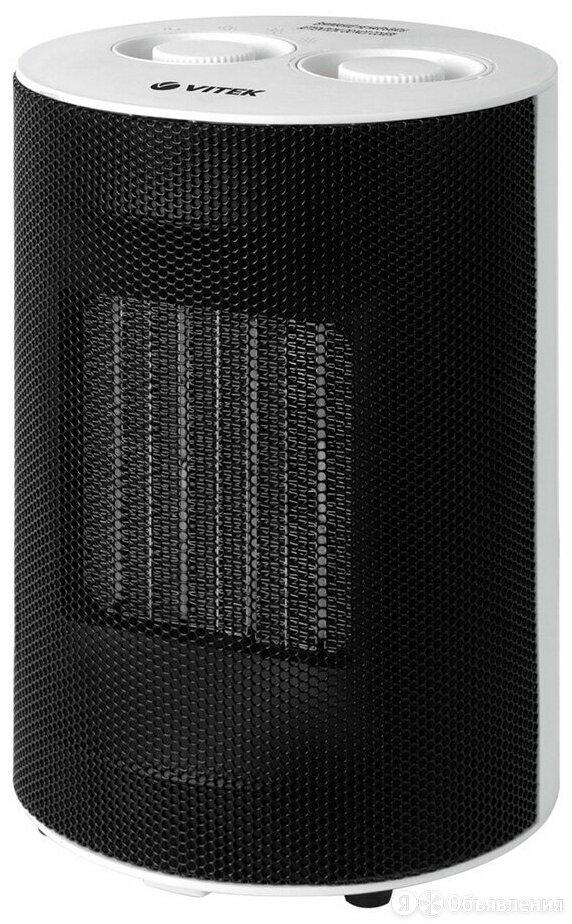 Тепловентилятор VITEK VT-2059 белый/черный по цене 1886₽ - Обогреватели, фото 0