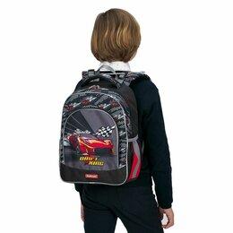 Рюкзаки - Ученический рюкзак ErichKrause® ErgoLine® 15L Drift King, 0