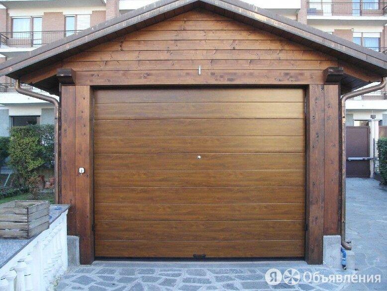 Секционные ворота по цене 61656₽ - Заборы, ворота и элементы, фото 0