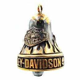 Аксессуары и дополнительное оборудование  - Бронзовый колокольчик для мотоцикла HARLEY DAVIDSON, 0