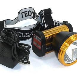 Фонари - Налобный светодиодный фонарь 1LED TX-8838 50W (встроенный аккумулятор), 0
