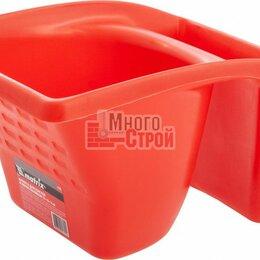 Для шлифовальных машин - Кювета для кистей и мини-валиков, ударопрочный пластик, 1,2 л, 220х180х120 мм, 0