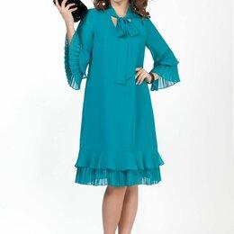 Платья - Платье 2019 TEZA бирюза Модель: 2019, 0