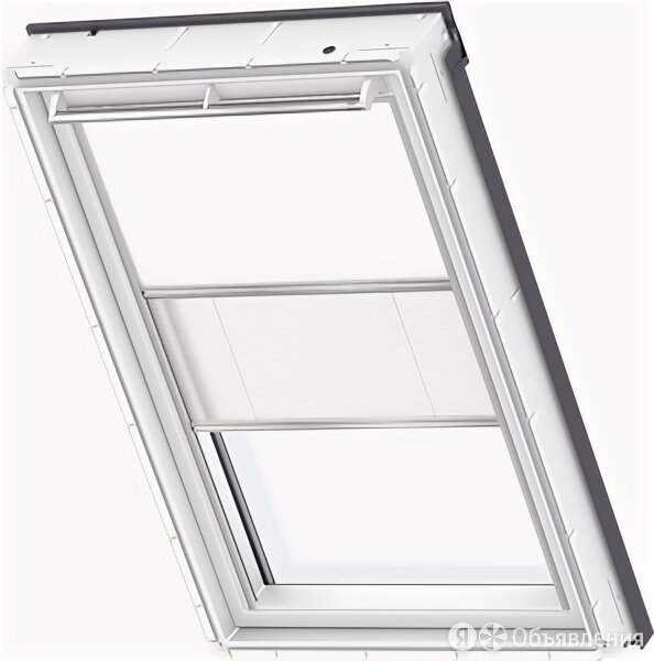"Двойная штора ""Дуо"" для мансардного окна Velux (Велюкс) DFD 55x78 (CK02/CR02)... по цене 8300₽ - Окна, фото 0"