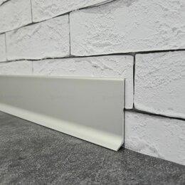 Плинтусы, пороги и комплектующие - Плинтус алюминиевый APL60 анодированный 3000х60х11 мм, 0