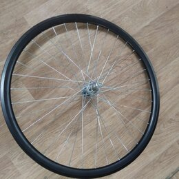 Обода и велосипедные колёса в сборе - Колесо 27, 5 заднее под трещетку двойной обод, 0
