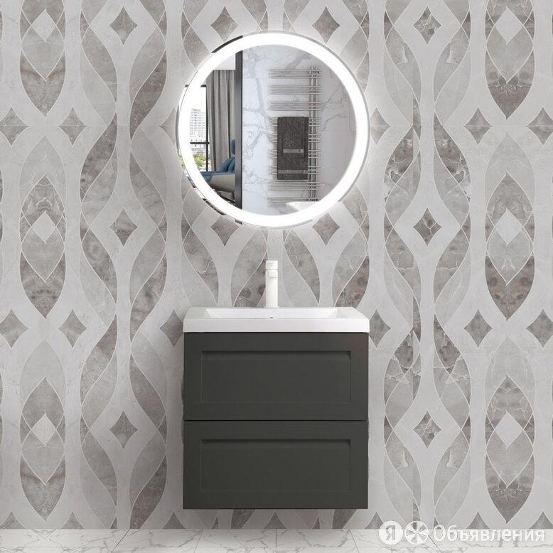 Мебель для ванной Art&Max Platino 60, подвесная, серый матовый по цене 28180₽ - Раковины, пьедесталы, фото 0