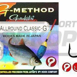 Грузила, крючки, джиг-головки - Крючки Gamakatsu G-Method Allround classic G №10 1/10, 0
