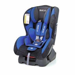 Автокресла - Детское кресло «Sparco», группы 0+/1 (0-18кг/0-4 года) велюр + вставки из полиэс, 0