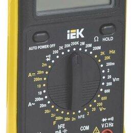 Измерительные инструменты и приборы - Мультиметр цифровой Professional MY63 IEK TMD-5S-063, 0