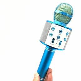 Микрофоны - Беспроводной микрофон для караоке ws 858, 0