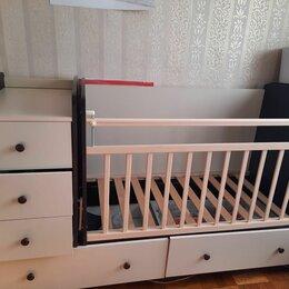 Кроватки -  кровать трансформер детская, 0